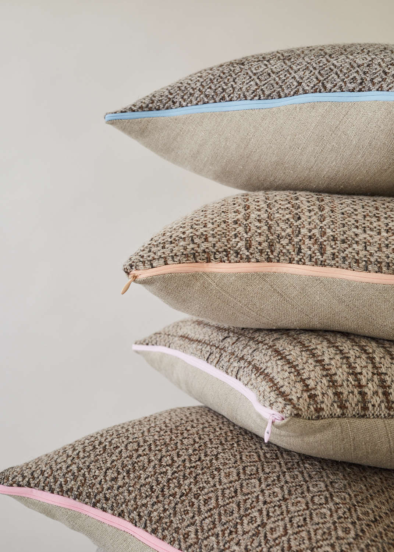 Nordic Lumber Cushion Stack