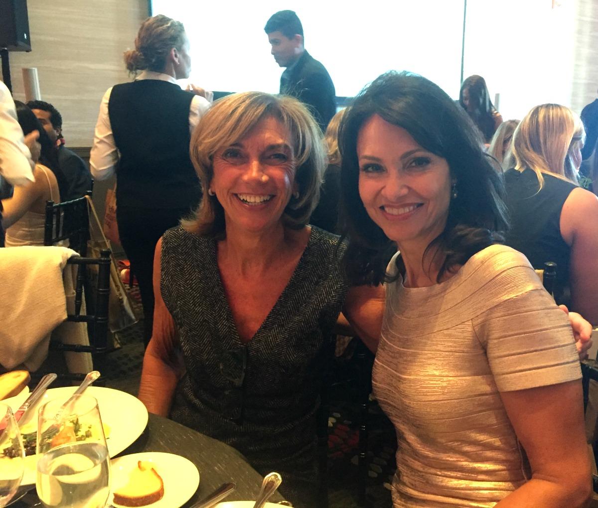 From Left: Lynne Kortenhaus & Liz Brunner