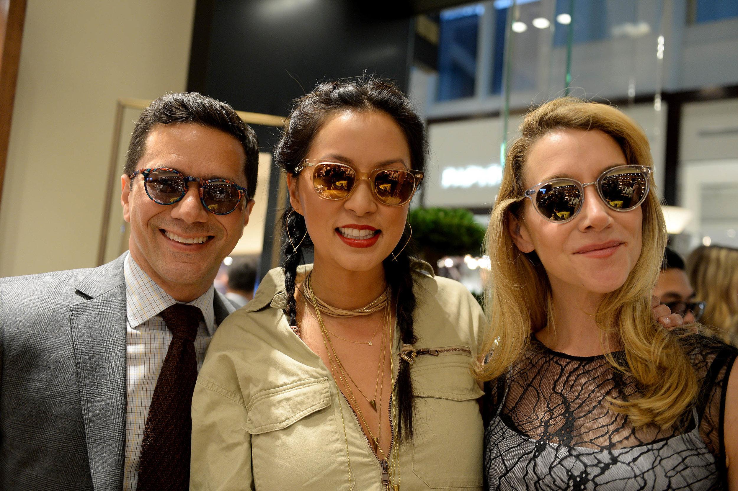 Ricardo Rodriguez, Tonya Mezrich & Nicole Vale