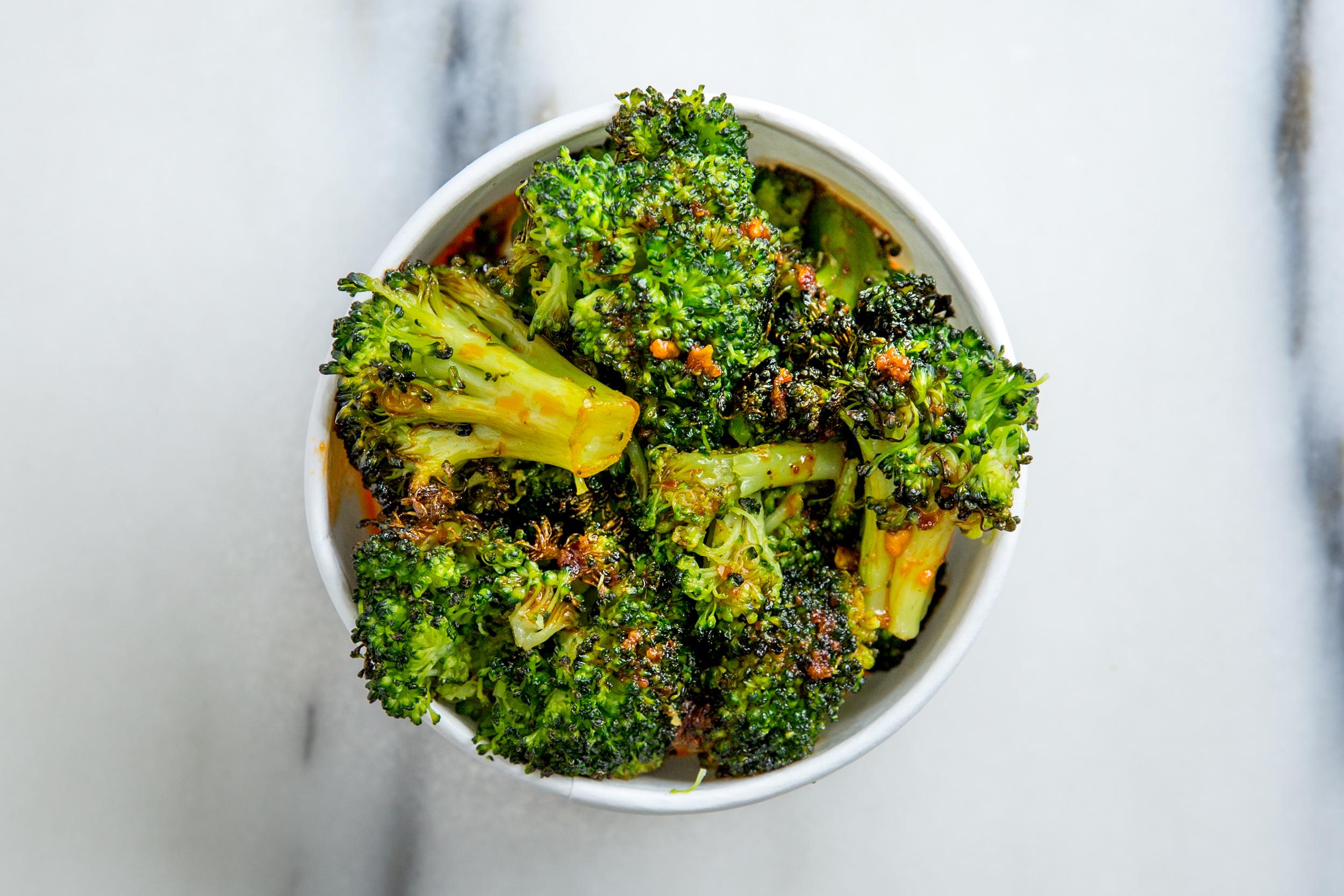 Broccoli+Chili-Garlic - $3.95