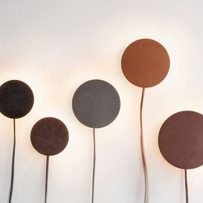 Leather Lamps by Norm Architects