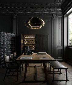 Interior Colour Trend Dark