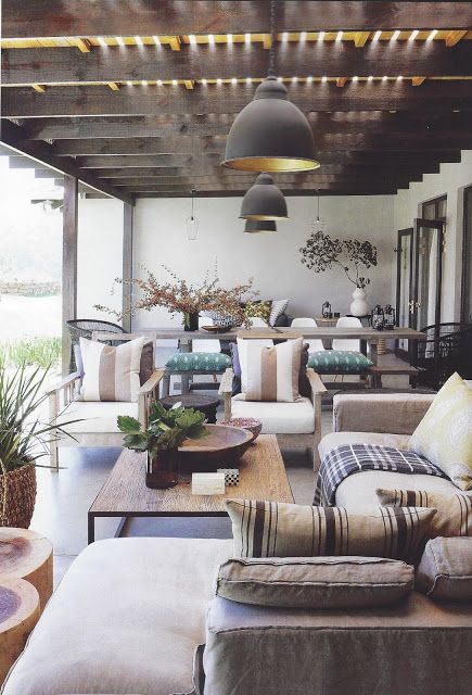 Outdoor Room Styling