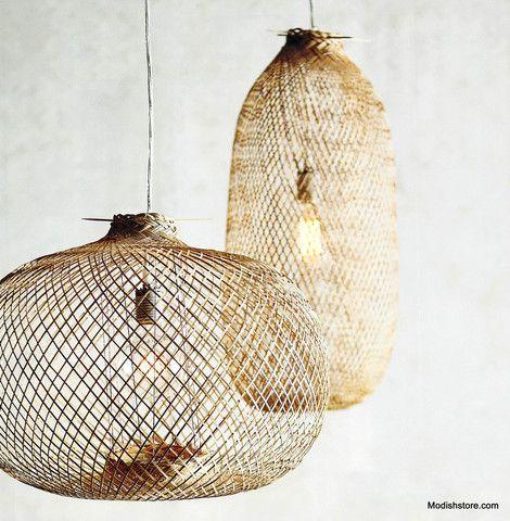 Lumina Bamboo Pendants