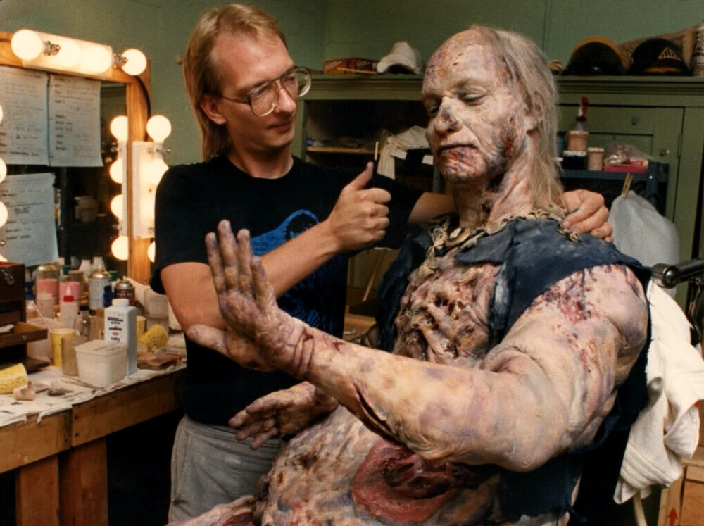 Shostrom has done some of the most iconic makeup sequences in classics like From Beyond, Videodrome, A Nightmare on Elm Street series, Prince of Darkness, Phantasm II and III, and many of the Star Trek properties. Follow him @themarkshostrom
