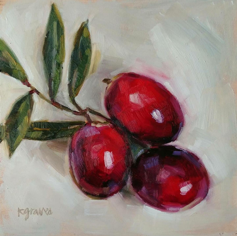 Cranberries, 6x6