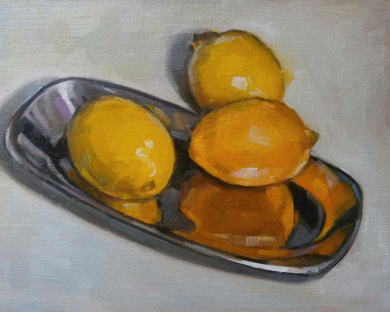 Lemon Reflection, 8x10