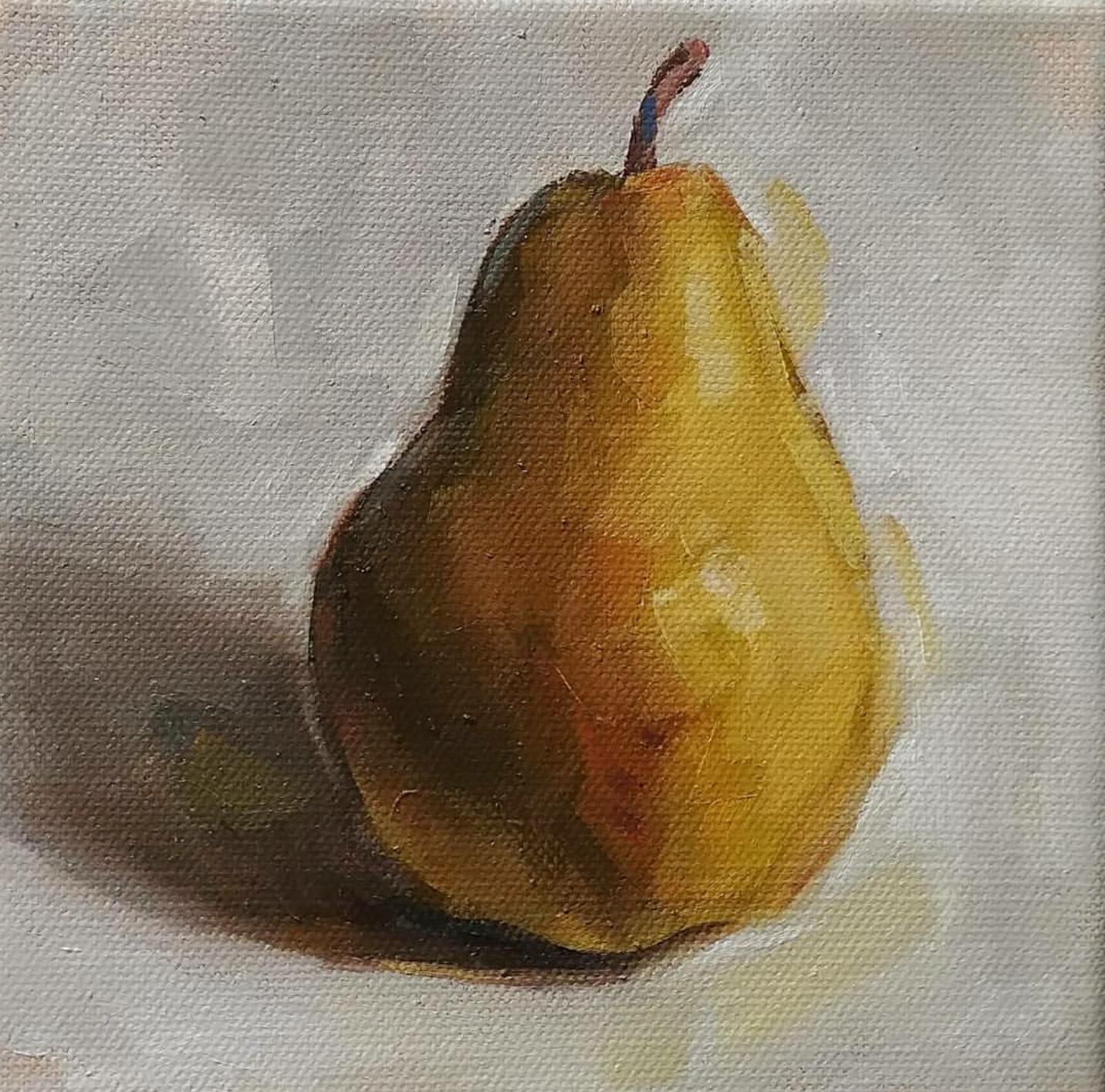 Pear, 6x6