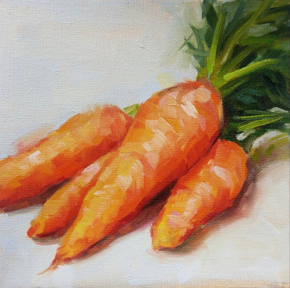 Carrots, 6x6