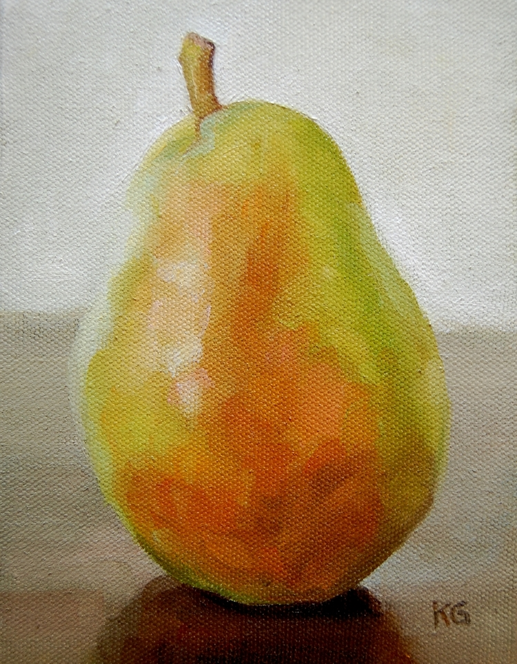 Pear, 5x7