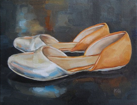 Shiny Shoes, 8x10