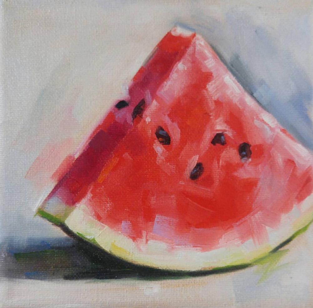 Watermelon, 6x6
