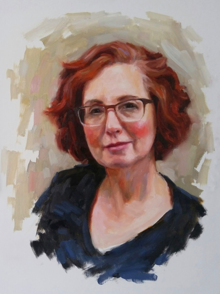 My Lovely Mother, 12x16