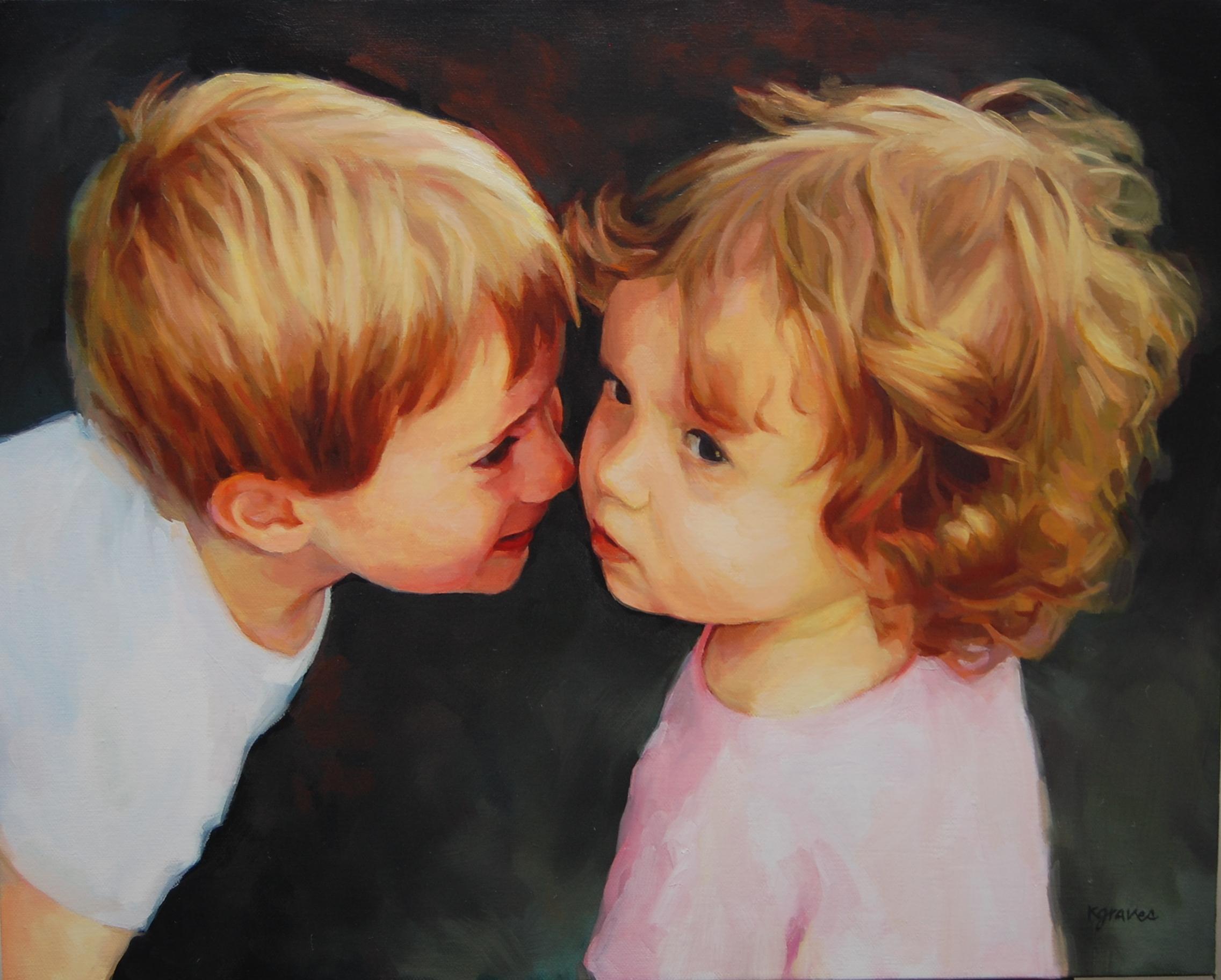 Siblings, 16x20