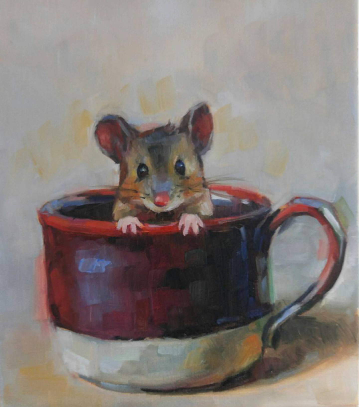 Mouse in a Mug, 8x10