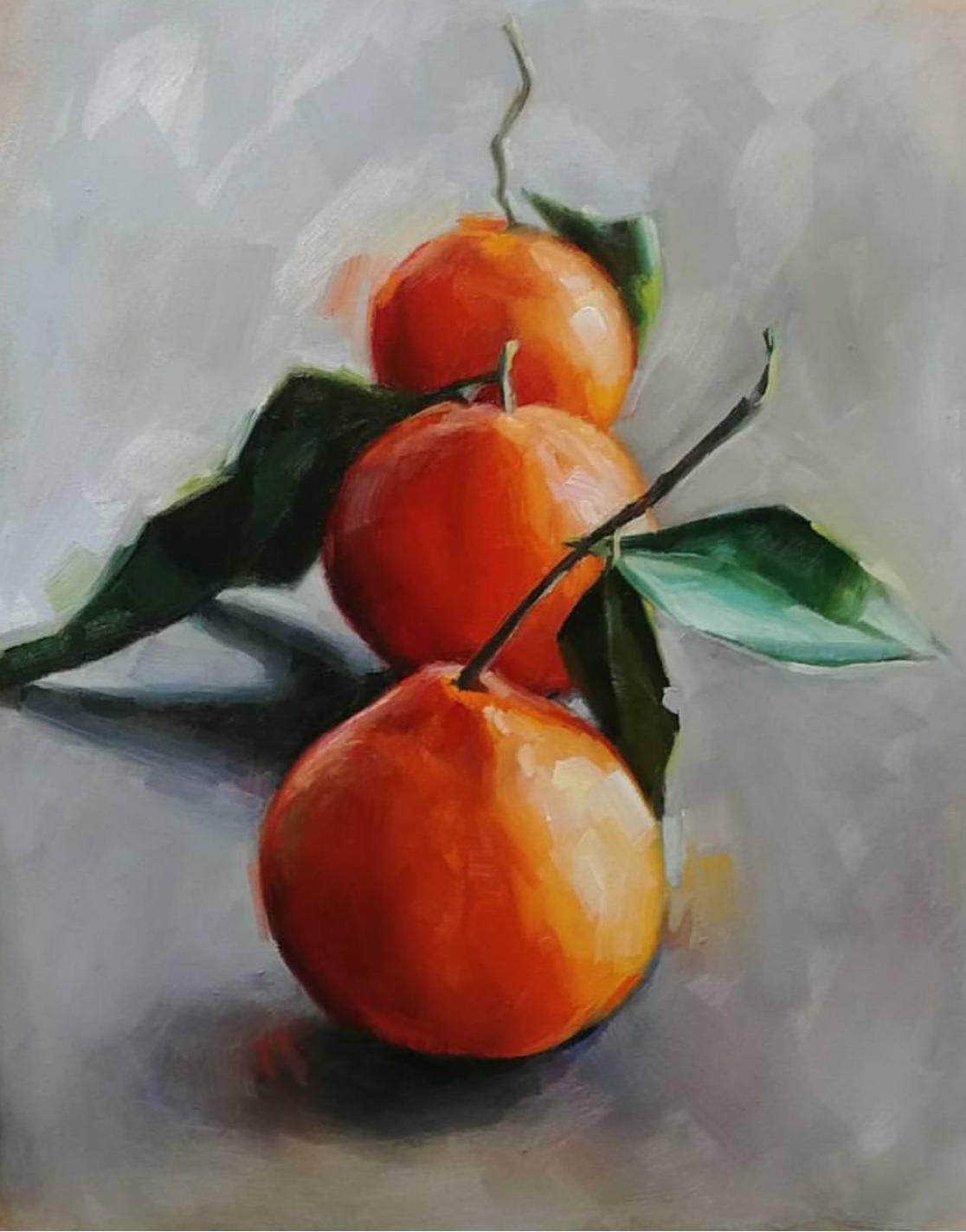 Oranges, 8x10