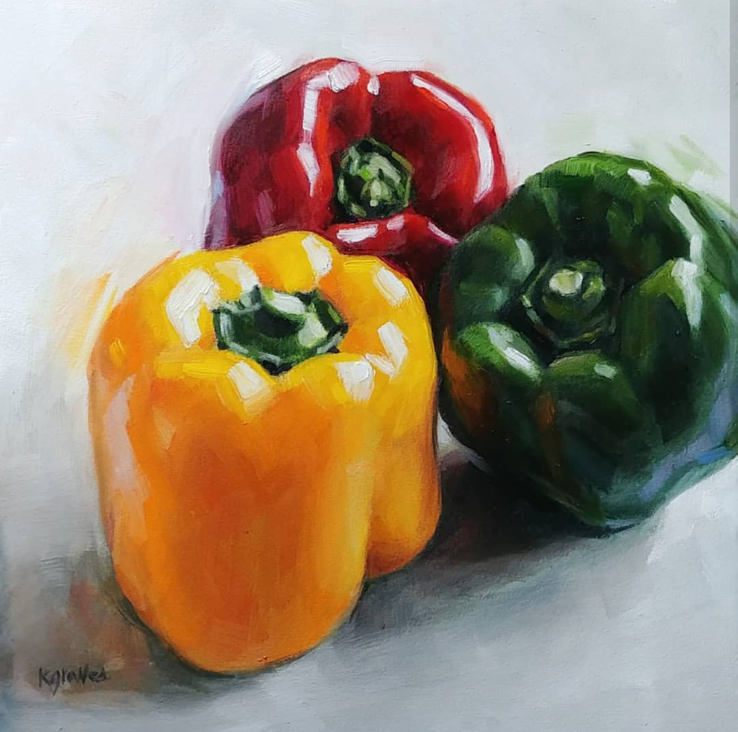 Peppers, 8x8