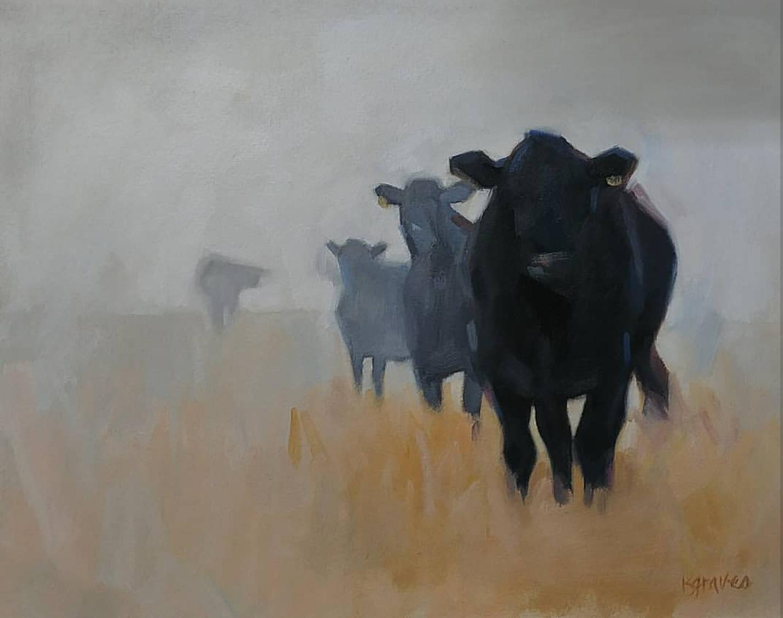 The Herd, 12x16