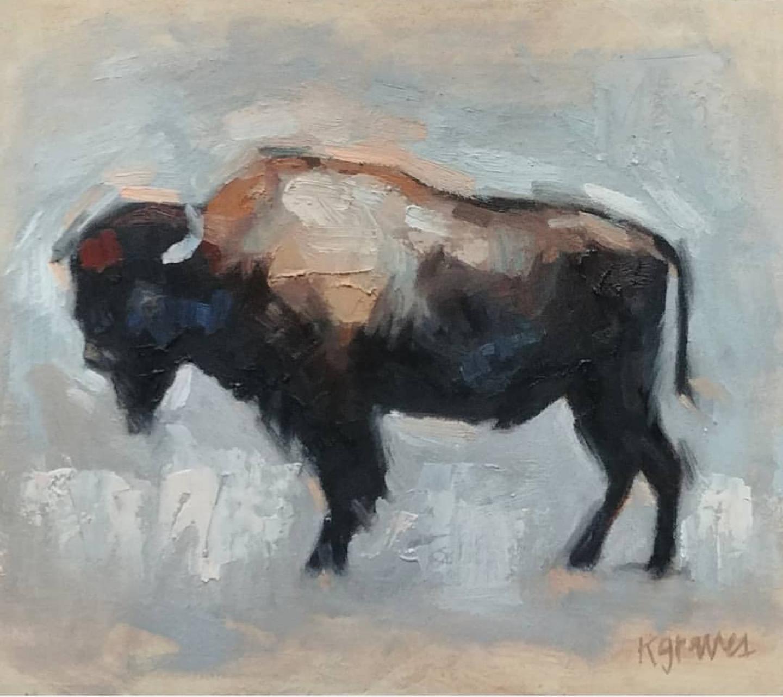 Single Buffalo, 8x10