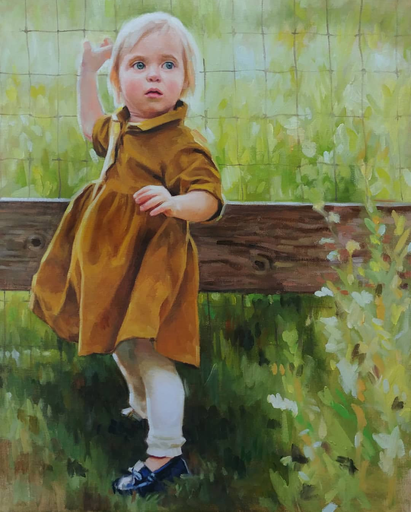 Little Girl, 20x16