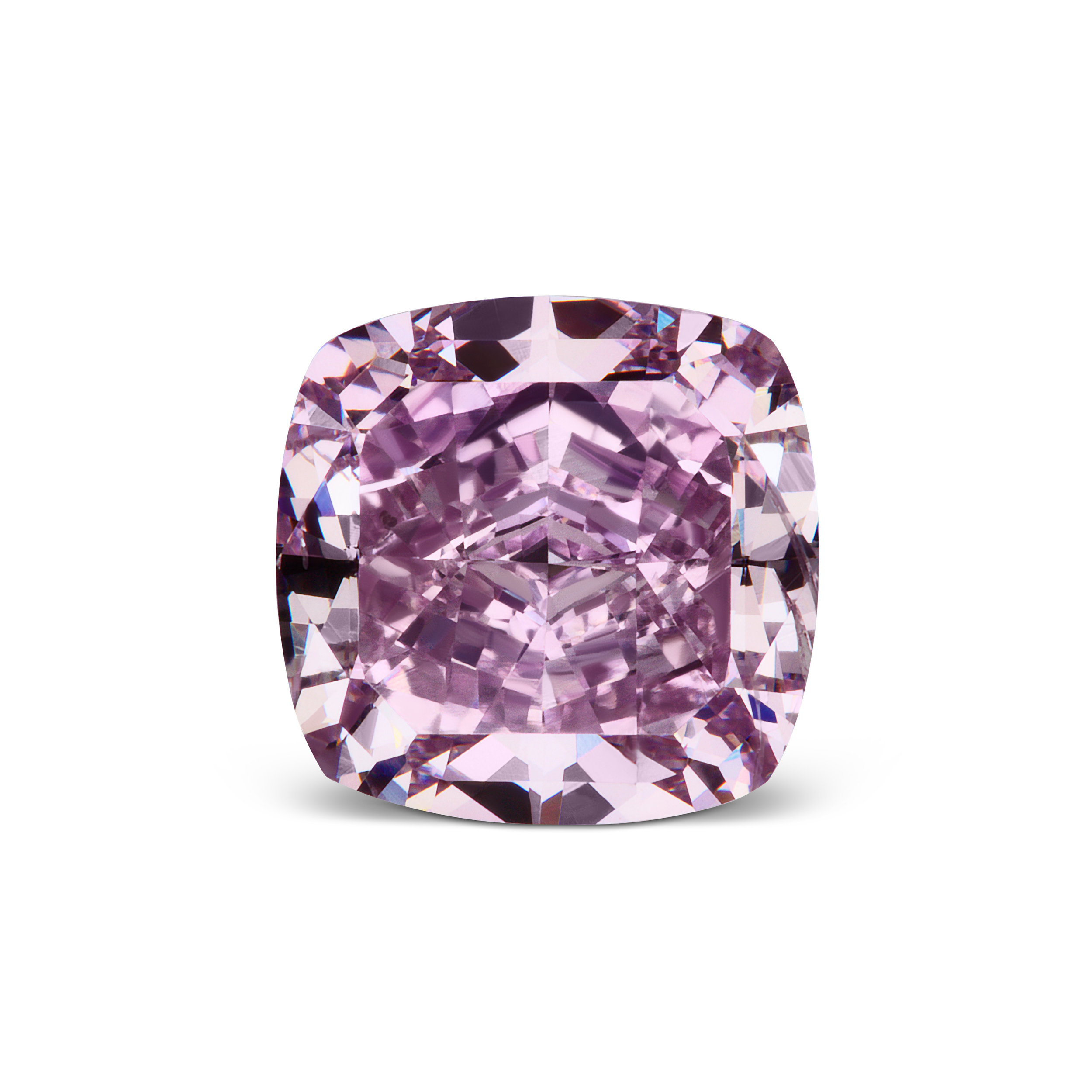 The Victorian Orchid Vivid Purple Diamond - Fancy Vivid Purple fashioned in a cushion-cut shaped at a noteworthy 1.64 carats