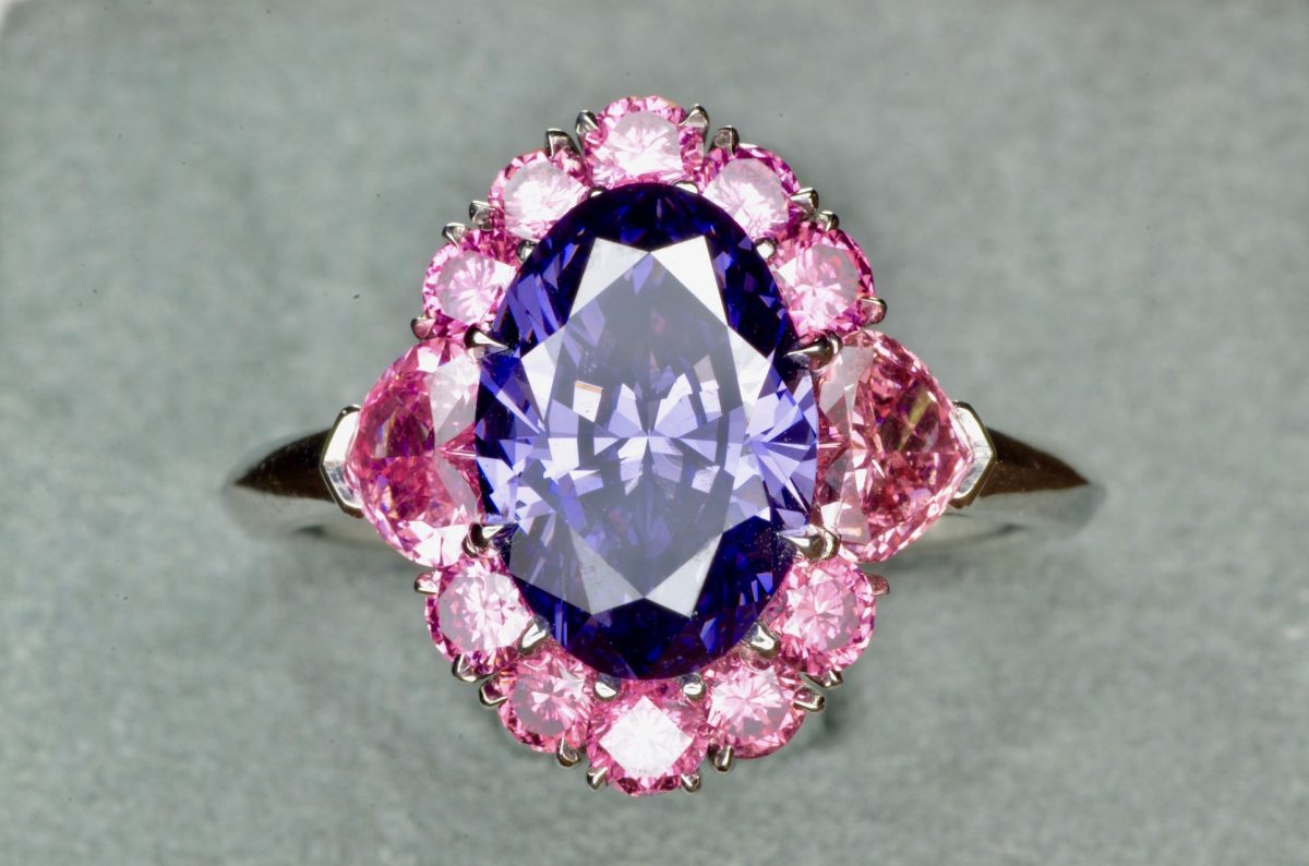 The Argyle Violet Ring