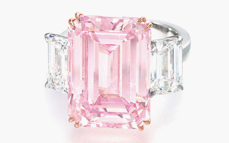 The Perfect Pink - Image courtesy of Christie's
