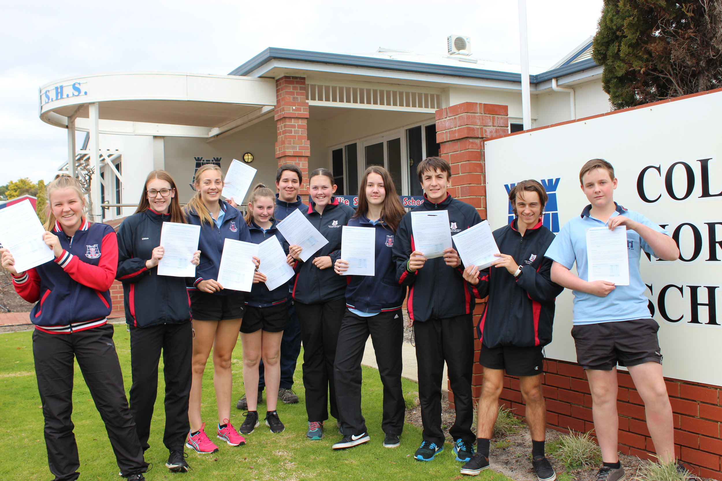 school council representatives at collie senior high school have released the findings of a youth survey.