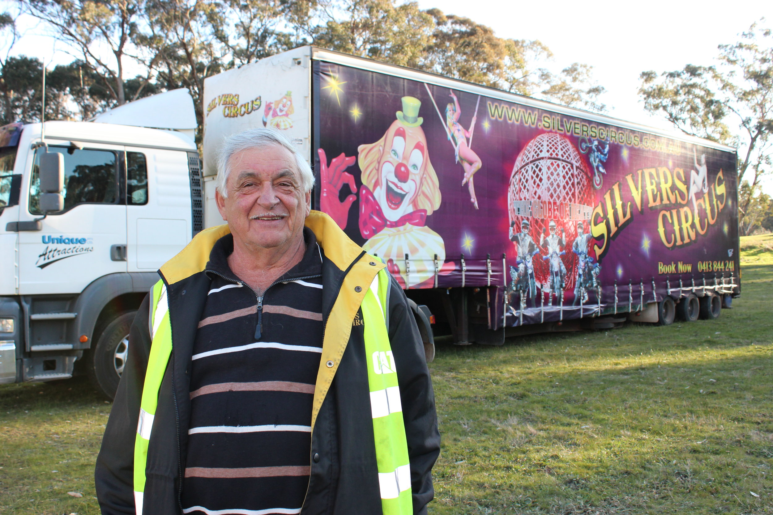 Silvers Circus owner, Anton Gasser, believes that a circus is very much like farming.