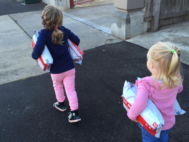 Brown girls delivering parcels 2016.jpg