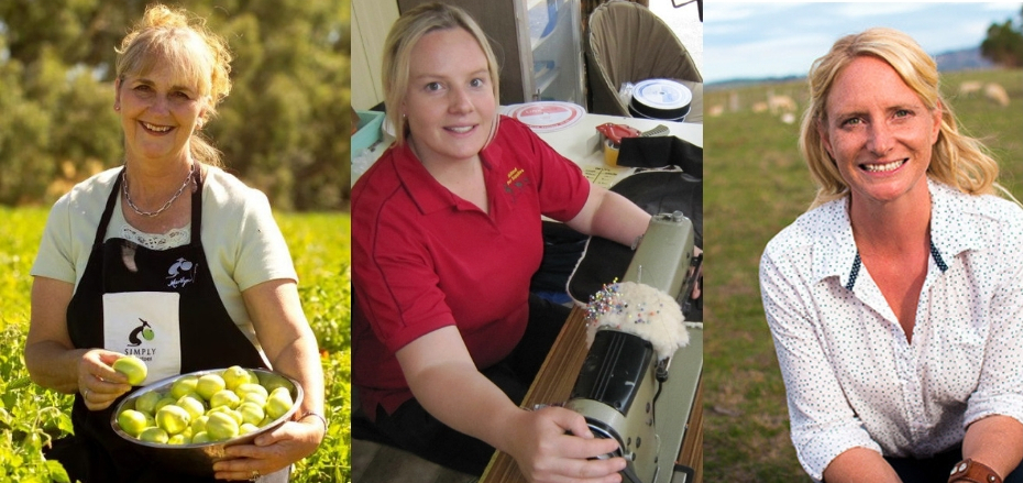 Be inspired by three rural women in business Marilyn Lanyon, Elise Brown and Toni Barton