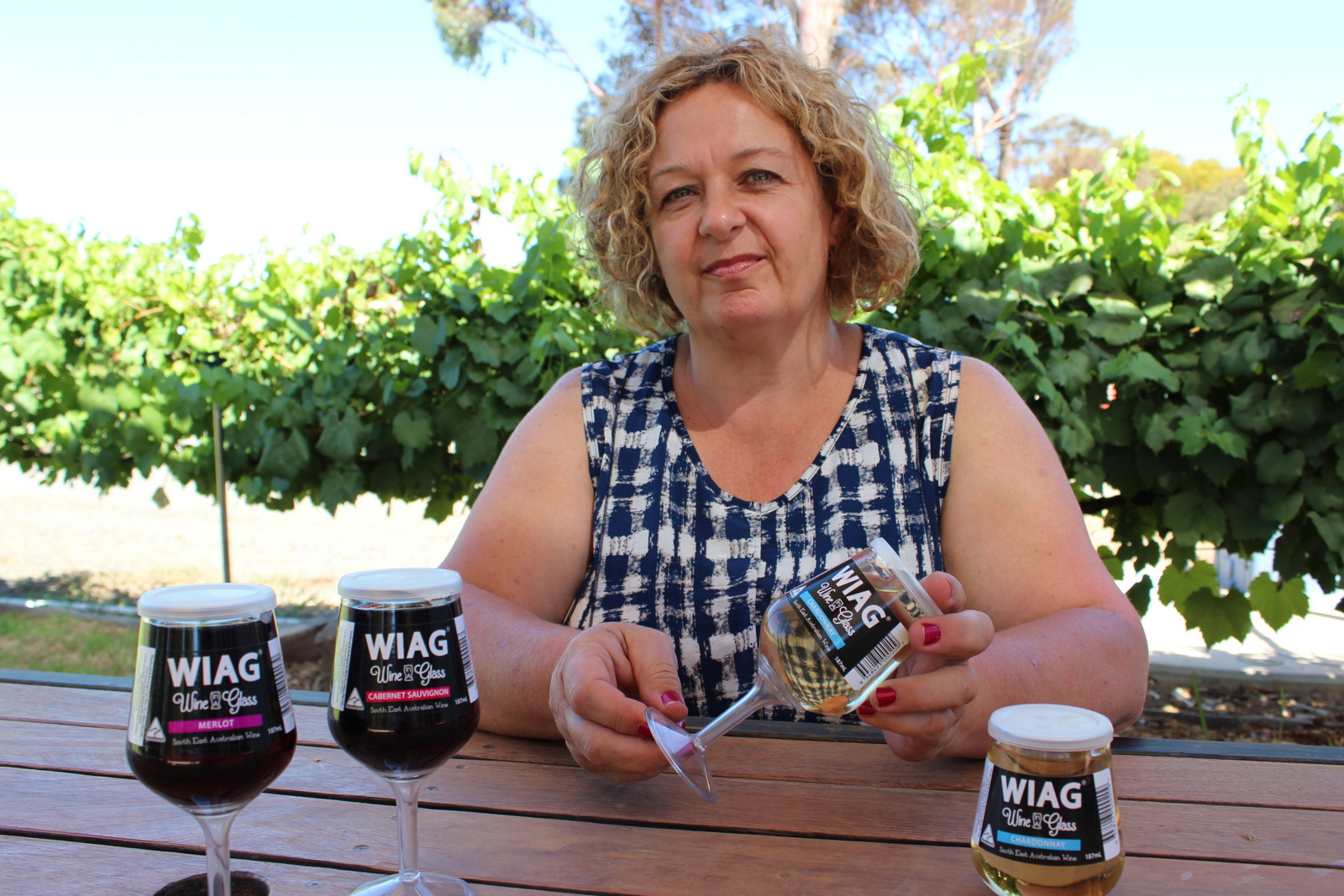 Managing Director of Wine in a Glass, Michelle Anderson-Sims