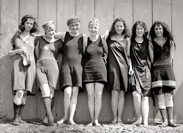 1920's bathing beauties. Photo by ozfan22 on Flickr