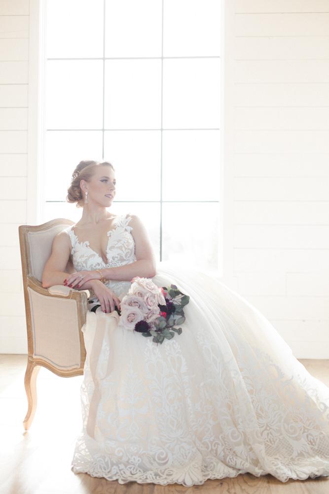 A truly elegant bride