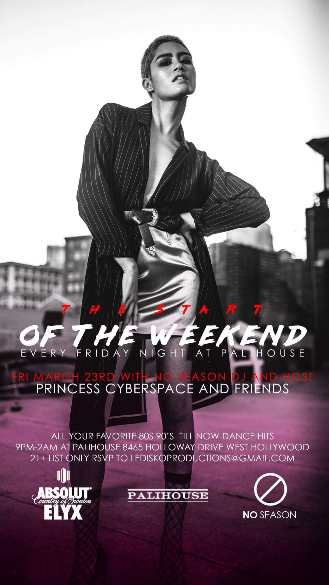 PRINCESS CYBERSPACE LIVE AT PALIHOUSE WEST HOLLYWOOD