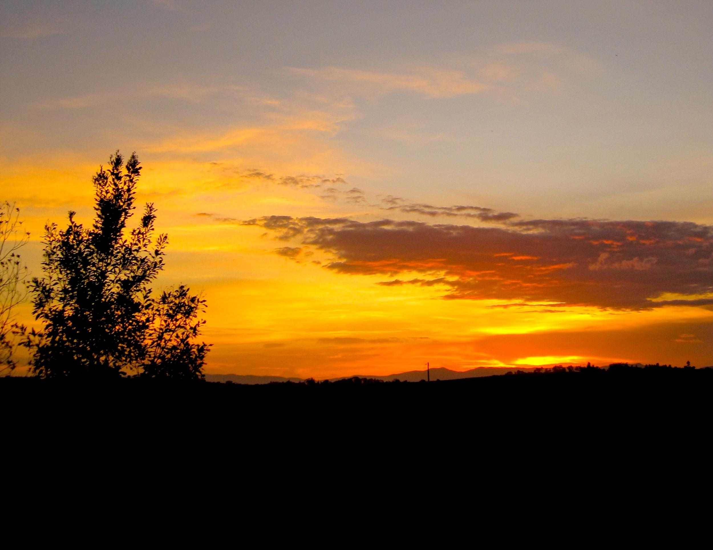 Atherton Tablelands at Sunset