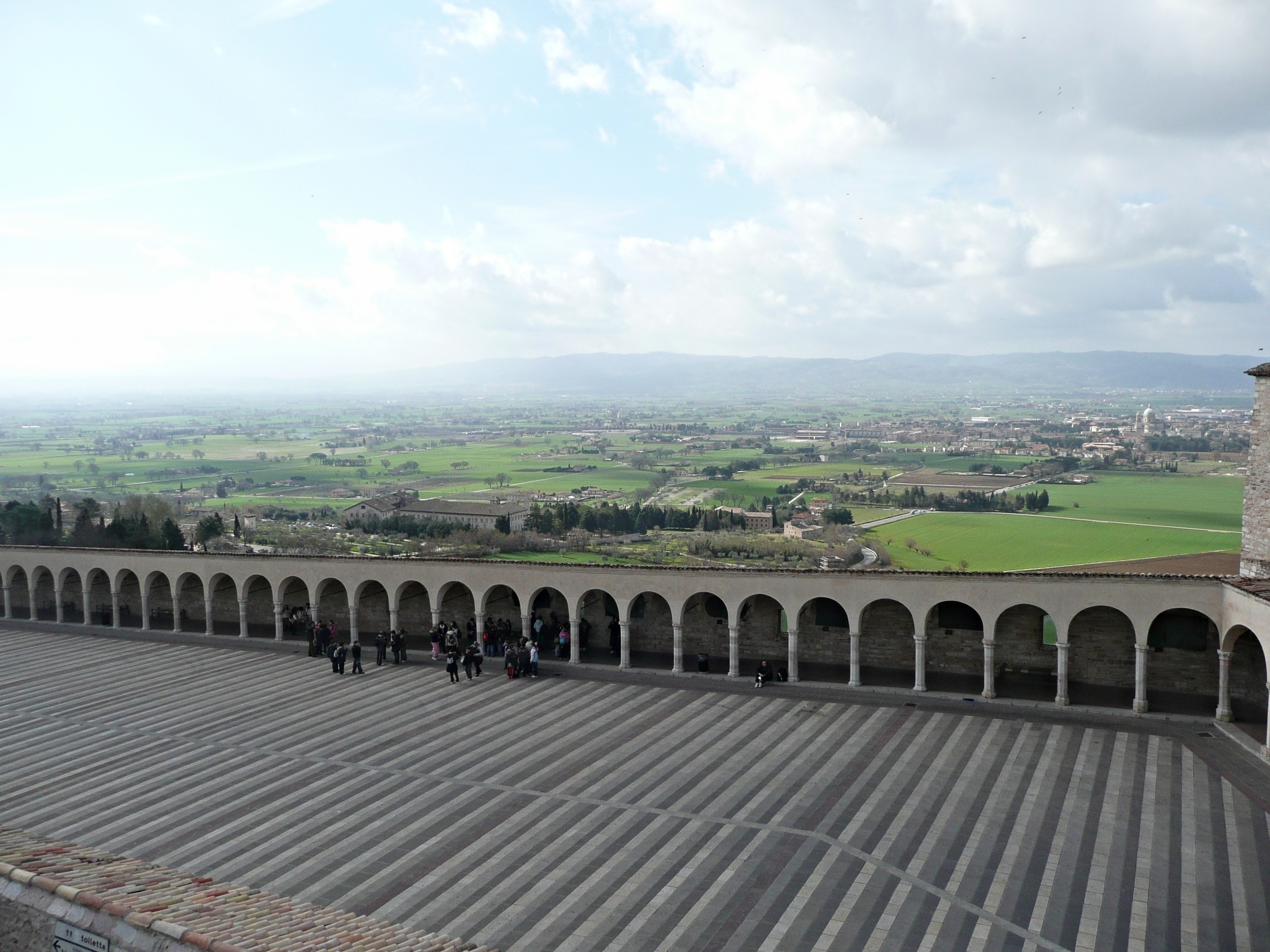 Basilica of Saint Ubaldo in Gubbio