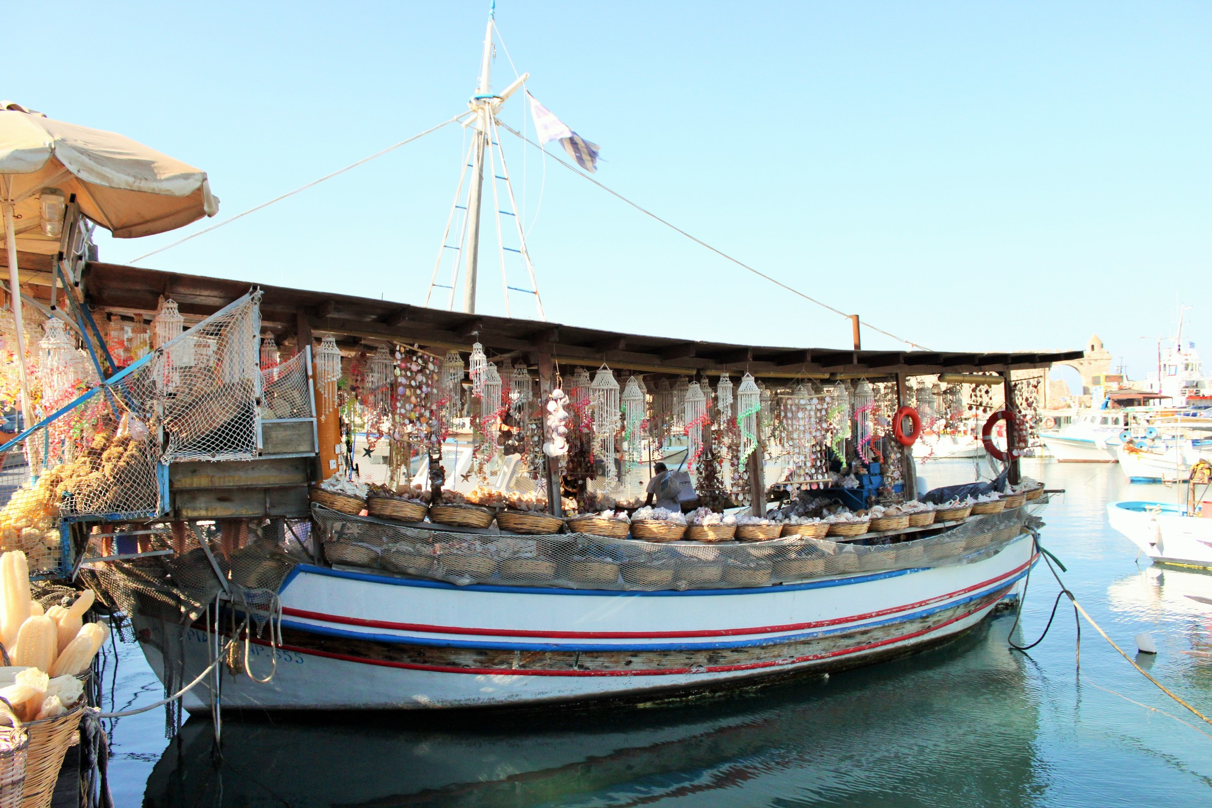 Fishing Boat, Rhodes