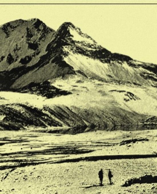Gordon Maccreagh trekking in Bolivia