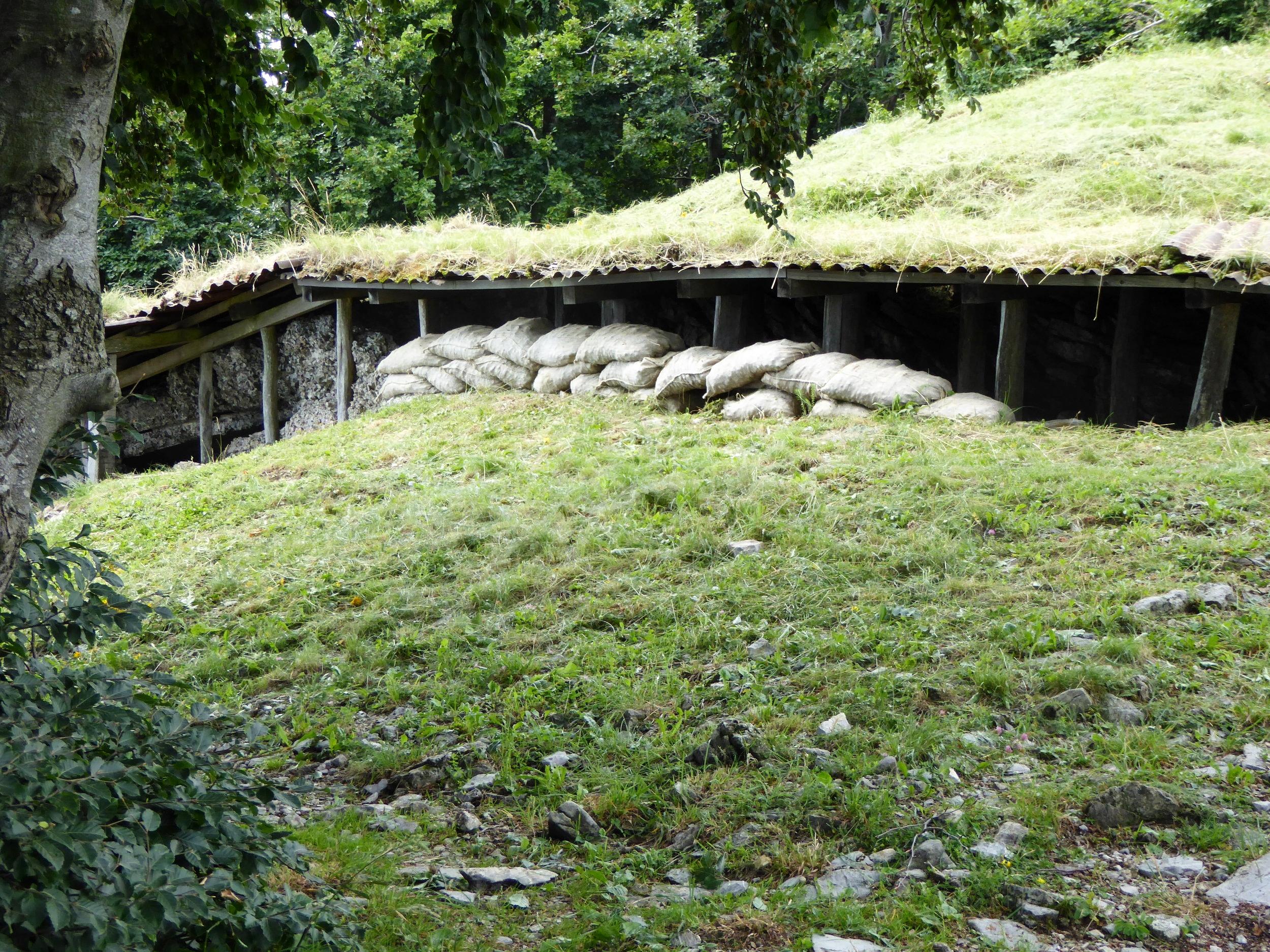 Kobarid WWI Bunker