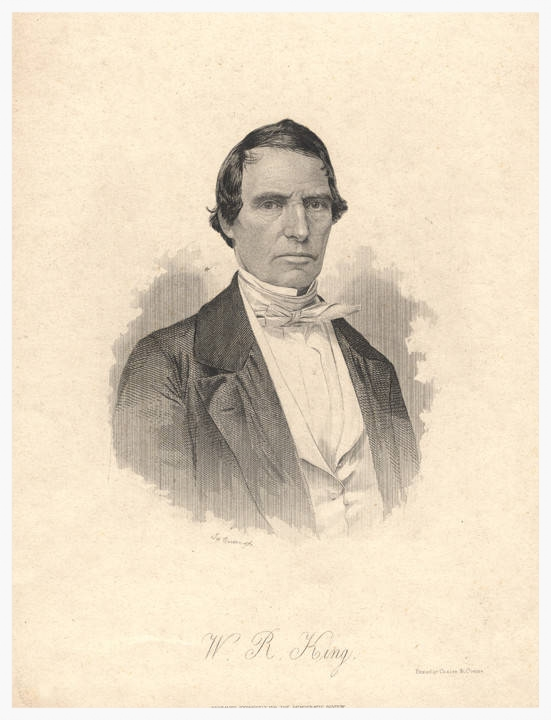 William Rufus King (portrait courtesy of the Alabama Department of Archives & History)