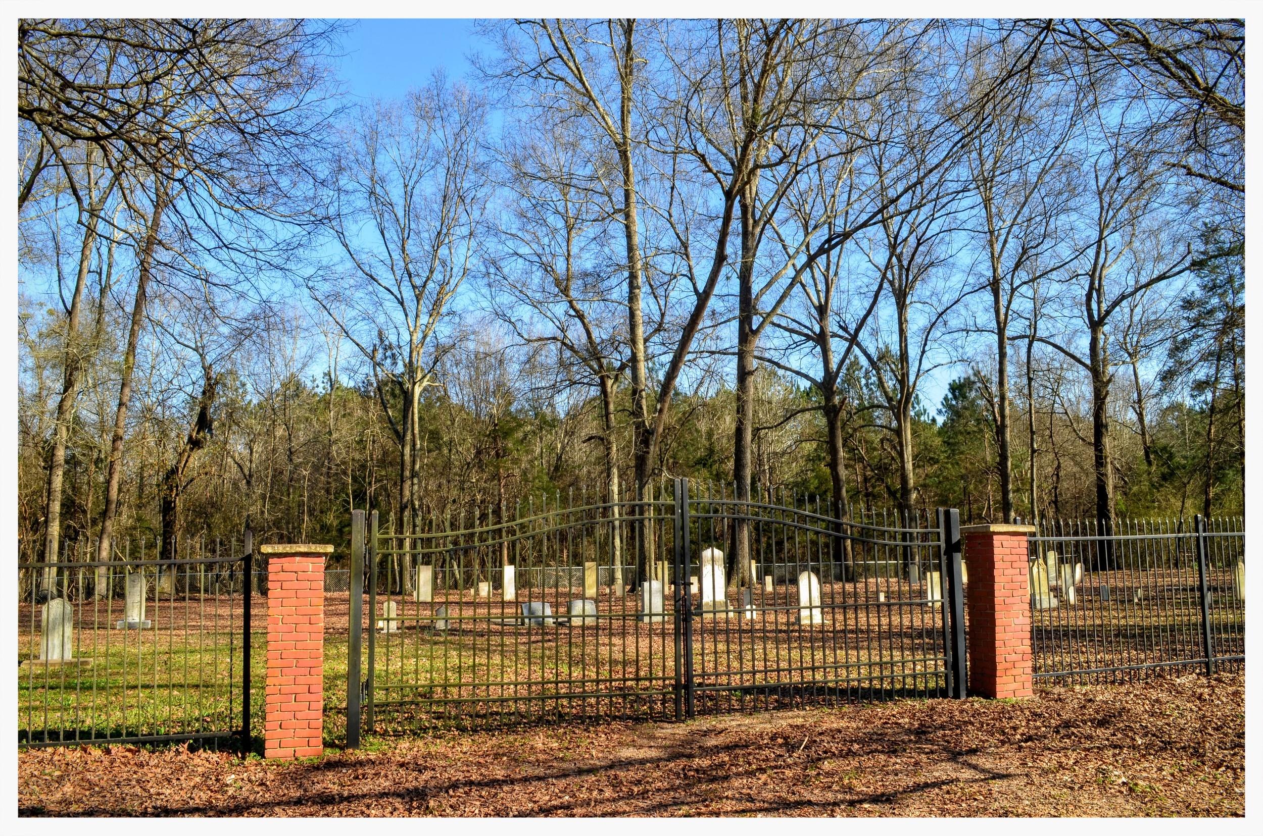 Bethel Cemetery gate, Pintlala, Montgomery County, Alabama