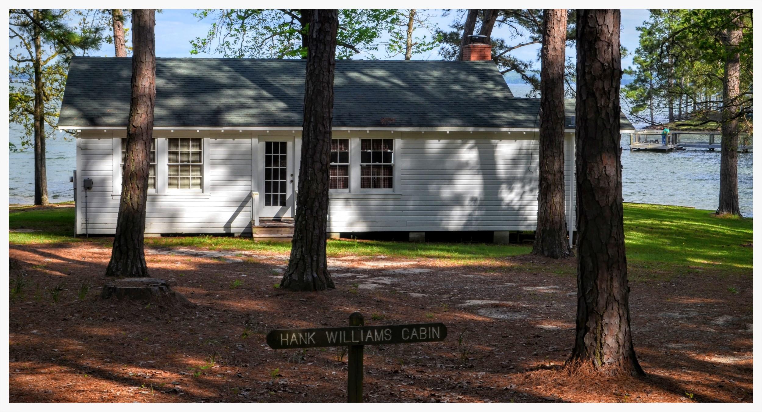 Hank Williams Cabin, Children's Harbor, Eclectic, Elmore County, Alabama