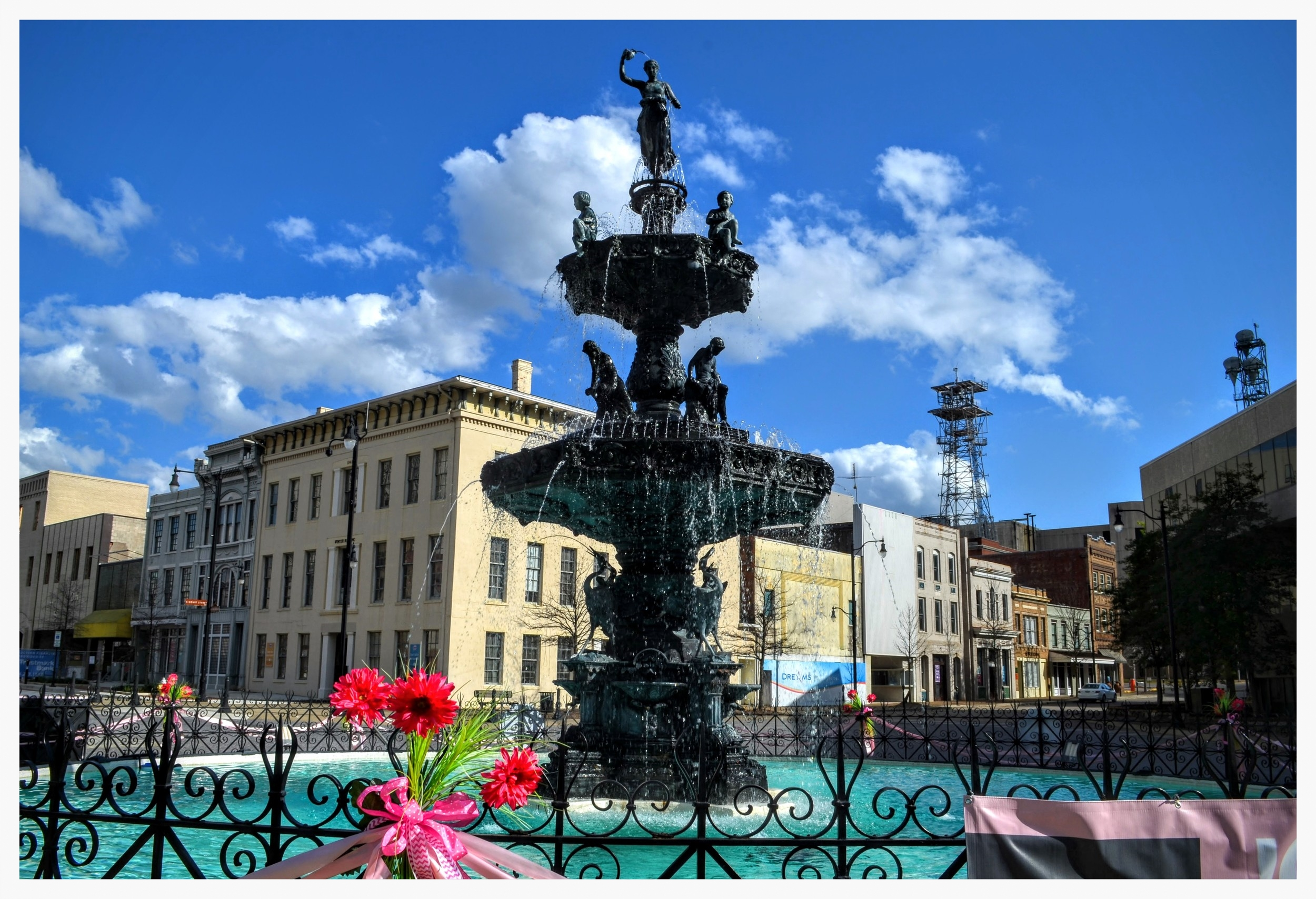 Court Square Fountain, Montgomery, Montgomery County, Alabama