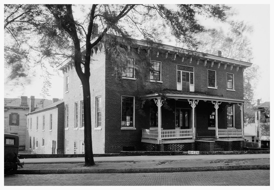 The Barnes School in 1934 (photo courtesy of the Montgomery County Historical Society)