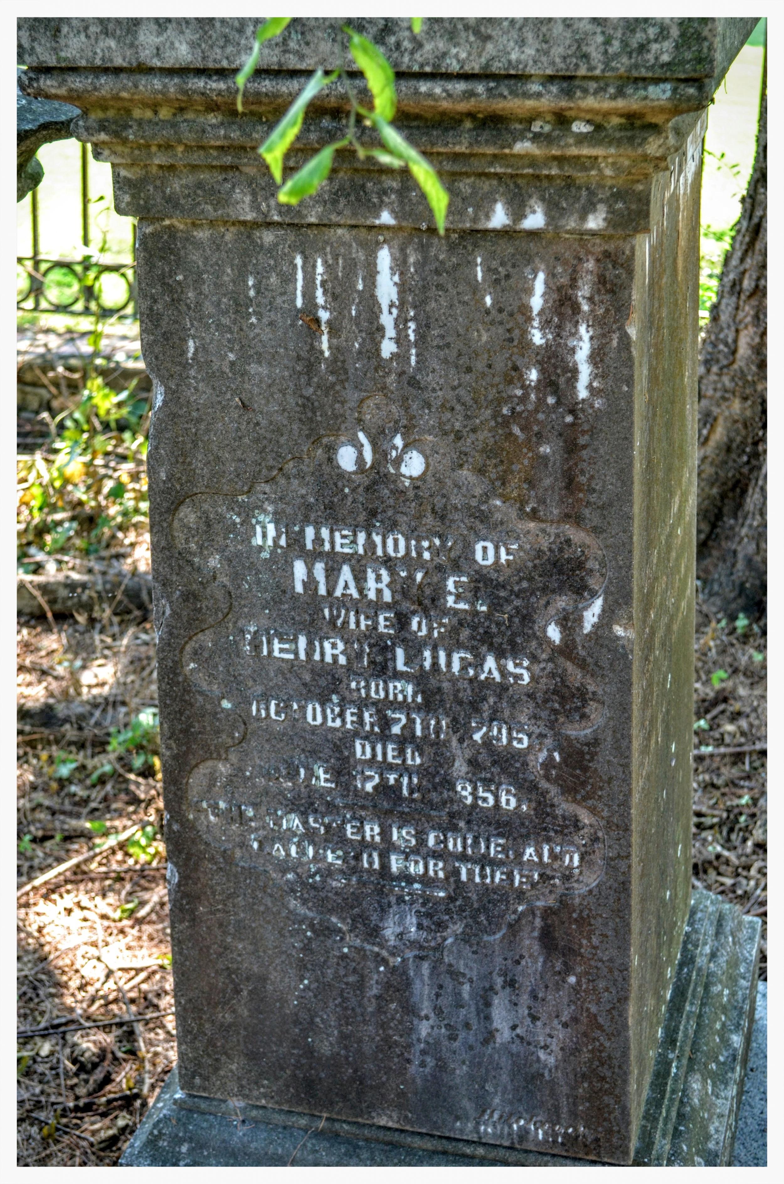 Gravestone 2,Old Augusta Cemetery, Montgomery, Montgomery County, Alabama