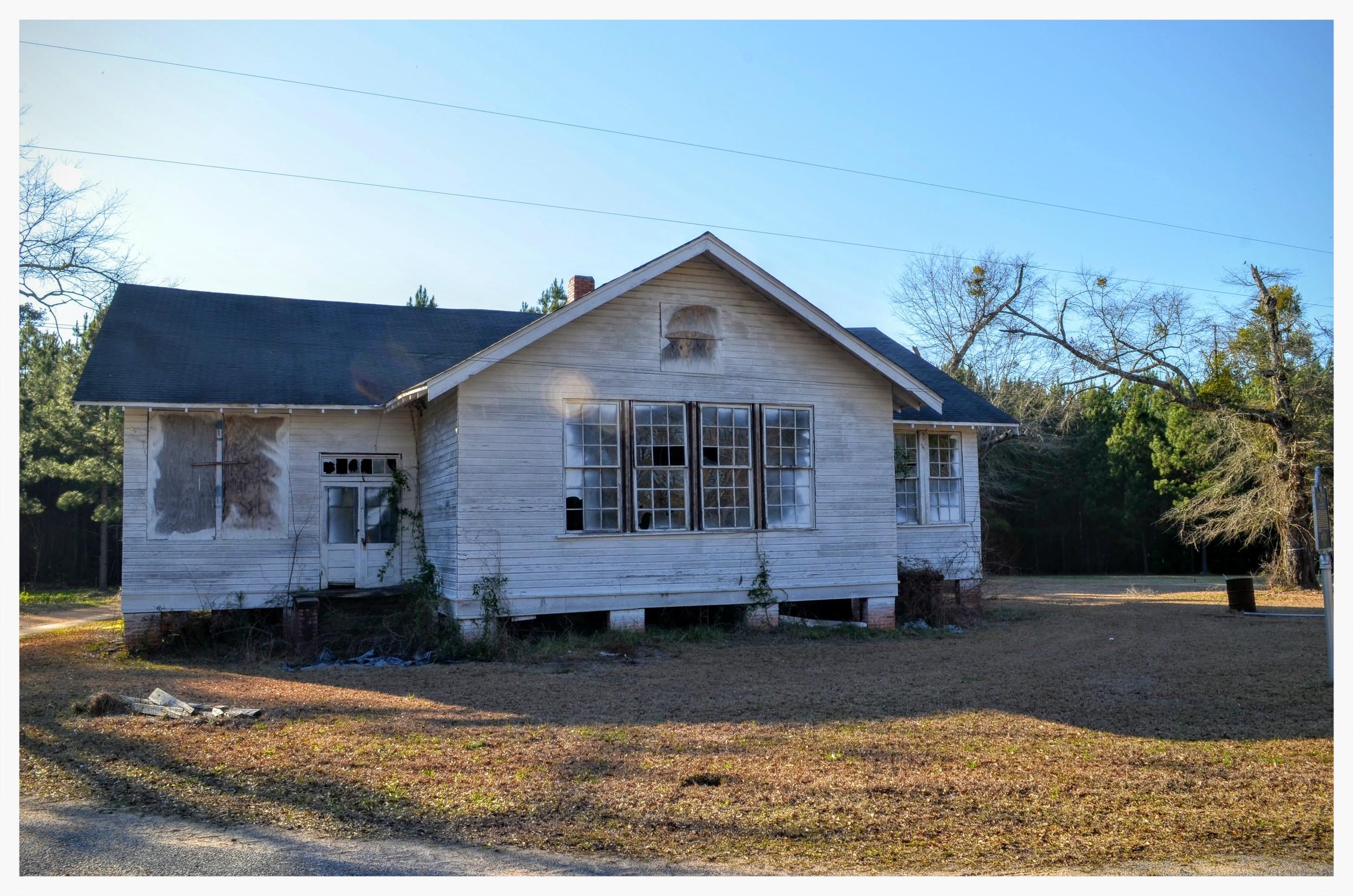 Tankersley Rosenwald School, Hope Hull, Montgomery County, Alabama