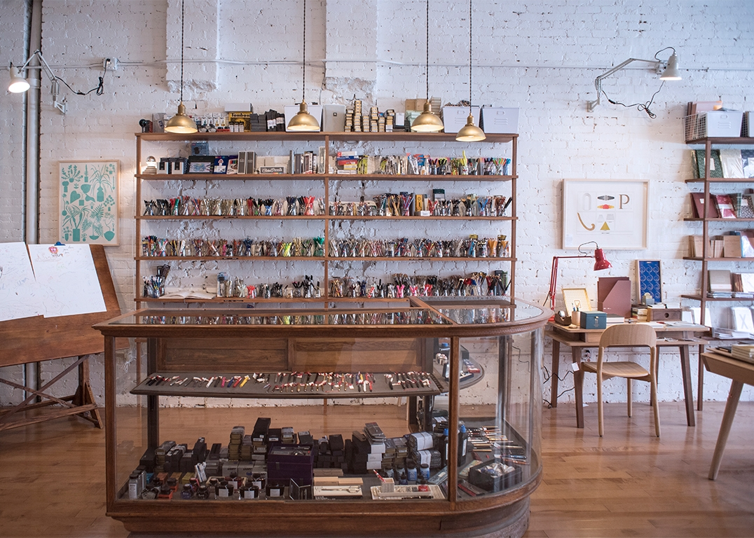 """Goods for the Study is a beautiful store in West Village aimed at giving work spaces a more """"distinct character."""""""