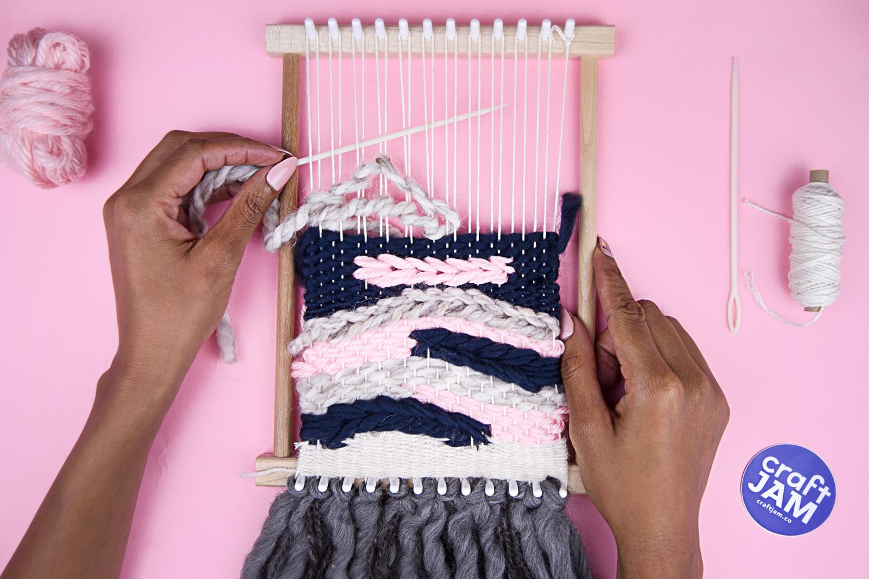 Mastern Modern Tapestry Weaving