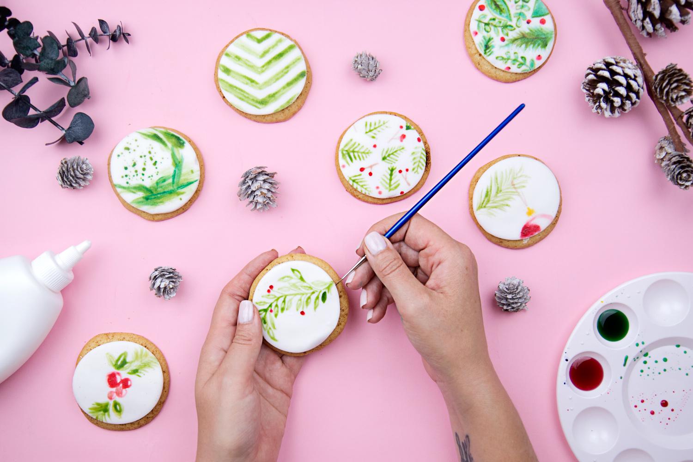 Watercolor Cookie Decorating Workshop